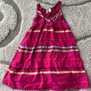 Old Navy pink summer time girls strapless dress